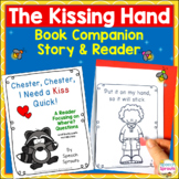 The Kissing Hand Speech Therapy Book Companion & Reader