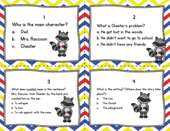 THE KISSING HAND Activities Task Cards!  Fun Back to School Activity!