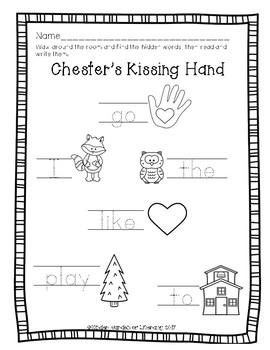Write the Room The Kissing Hand