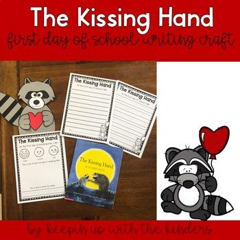 The Kissing Hand Writing Craftivity