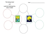 The Kissing Hand and Look Out Kindergarten, Here I Come! bubble map