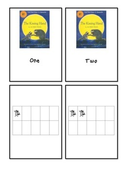 The Kissing Hand (book) - Number Word and Ten Frame Counti