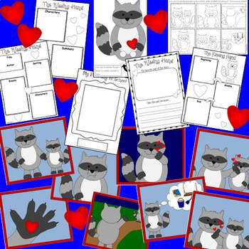 The Kissing Hand first day at school activities and sequencing pictures