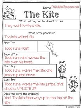 The Kite  - Common Core Connections - Treasures Grade 1