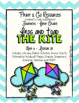 The Kite - Journeys First Grade Print and Go