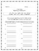 The Kite, Journeys® First Grade, Unit Six Spelling Homework