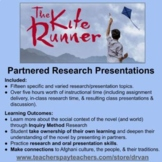 The Kite Runner: A Partnered Research Presentation on Afghanistan