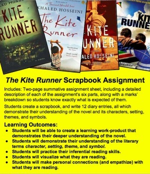 The Kite Runner: A Summative or In-Progress Scrapbook Read