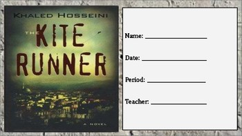 The Kite Runner: Character Workbook Assignment