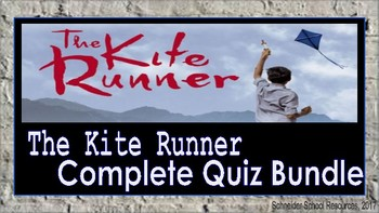The Kite Runner: Complete Materials Bundle