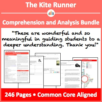 The Kite Runner – Comprehension and Analysis Bundle