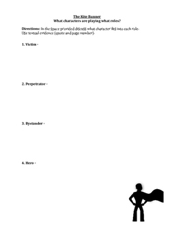 The Kite Runner Lesson - The Roles We Play