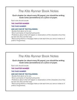 The Kite Runner Reading Lessons