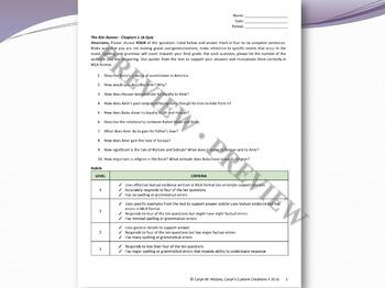 The Kite Runner Reading Quiz Ch. 1-16