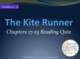 The Kite Runner Reading Quiz Ch. 17-25