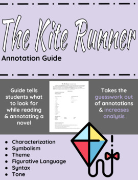 The Kite Runner Annotation Guide