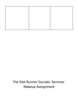 The Kite Runner Socratic Seminar