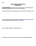 The Kite Runner Thematic Research Worksheet