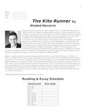 The Kite Runner Unit