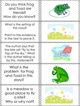 The Kite from Frog and Toad (Macmillan- Unit 5, Week 2) Quiz-Quiz-Trade