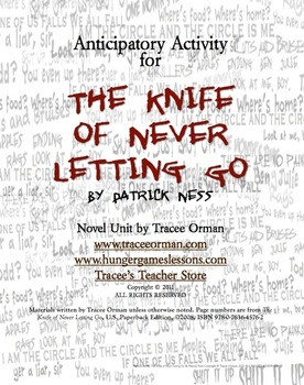 Free The Knife of Never Letting Go Anticipatory Activity