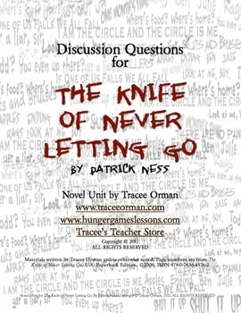 The Knife of Never Letting Go Chapter Questions