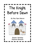 The Knight At Dawn Readers' Response Pack!