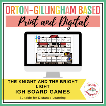 The Knight and the Bright Light! (an igh board game) Orton