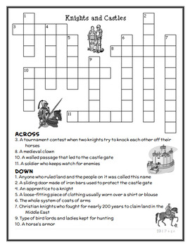 The Knight at Dawn | Knights and Castles : Magic Tree House BUNDLE  (46 pages)