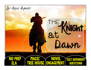 The Knight at Dawn: Text Dependent Questions