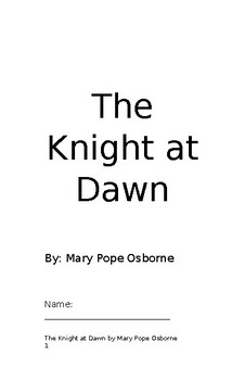 The Knight at Dawn student packet