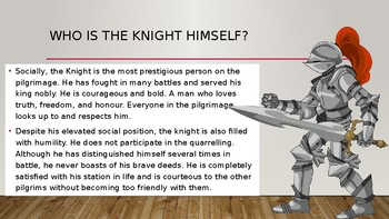 The Knights Tale - Chaucer