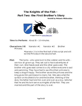 The Knights of the Fish - Spanish Fairy Tale Pack for Reader's Theater