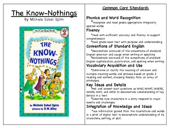 The Know-Nothings Book Study