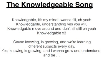 Knowledgeable Song (Instrumental)