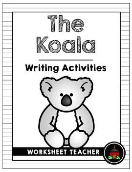 The Koala Writing Activities