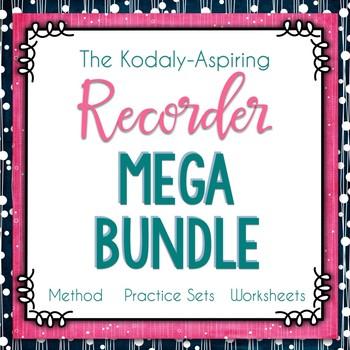 The Kodály-Aspiring Recorder Method Mega Bundle GROWING #musiccrewrecorder