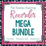 The Kodály-Aspiring Recorder Method Mega Bundle GROWING #m