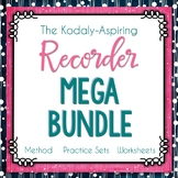 The Kodály-Aspiring Recorder Method Mega Bundle GROWING #m