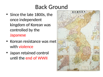 The Korean Peninsula Guided Notes