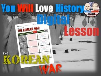 The Korean War Digital Activity