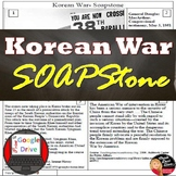 Cold War | The Korean War | SOAPSTone Primary Source Analy
