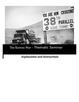 Socratic Seminar - The Korean War - Common Core Aligned