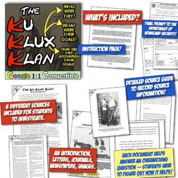 Ku Klux Klan: Students investigate an American Terrorist Group! The KKK!