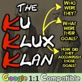 Ku Klux Klan: Students investigate an American Terrorist G