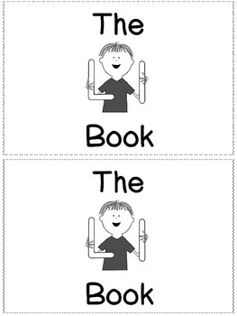 The L Book -Little Sight Word Reader
