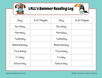 The L4LL Latino Children's Summer Reading Program - BASIC