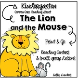 Print & Go Pack! The LION and the MOUSE an AESOP FABLE  {K Reading Street}