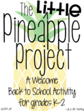 The LITTLE Pineapple Project: A Back to School Activity
