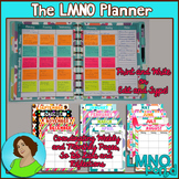 The LMNO Planner:  Teacher Planner